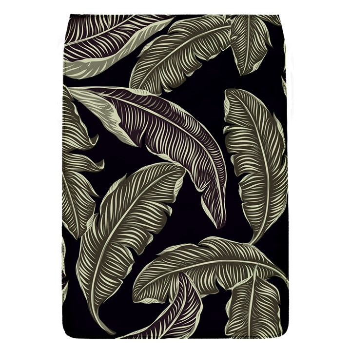 Jungle Leaves Tropical Pattern Removable Flap Cover (S)