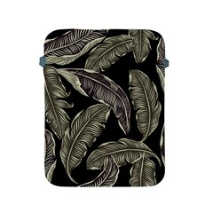 Jungle Leaves Tropical Pattern Apple Ipad 2/3/4 Protective Soft Cases by Nexatart