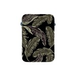 Jungle Leaves Tropical Pattern Apple iPad Mini Protective Soft Cases Front