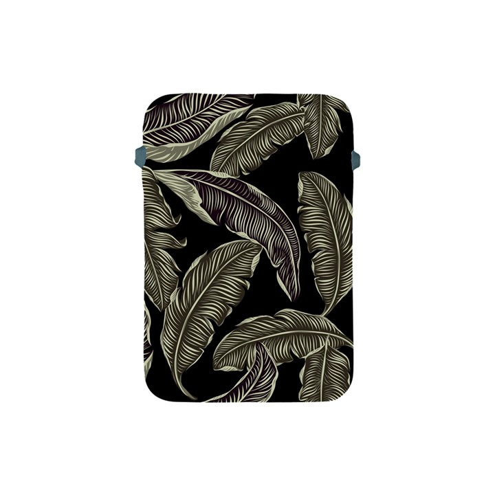 Jungle Leaves Tropical Pattern Apple iPad Mini Protective Soft Cases