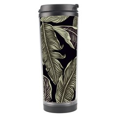 Jungle Leaves Tropical Pattern Travel Tumbler