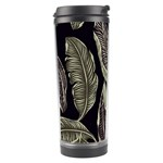 Jungle Leaves Tropical Pattern Travel Tumbler Right