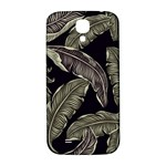 Jungle Leaves Tropical Pattern Samsung Galaxy S4 I9500/I9505  Hardshell Back Case Front