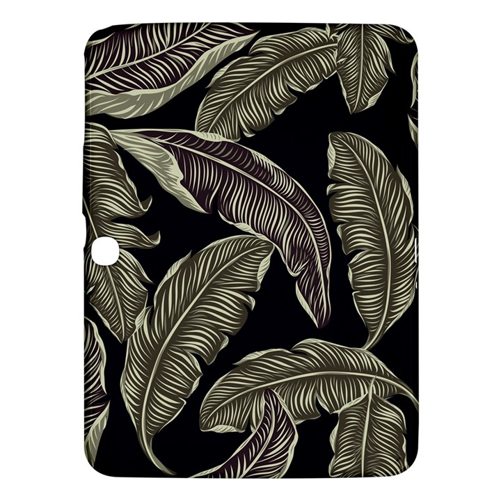 Jungle Leaves Tropical Pattern Samsung Galaxy Tab 3 (10.1 ) P5200 Hardshell Case