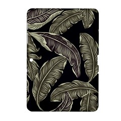 Jungle Leaves Tropical Pattern Samsung Galaxy Tab 2 (10 1 ) P5100 Hardshell Case