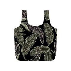 Jungle Leaves Tropical Pattern Full Print Recycle Bag (s) by Nexatart