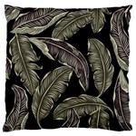Jungle Leaves Tropical Pattern Standard Flano Cushion Case (Two Sides) Back