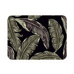 Jungle Leaves Tropical Pattern Double Sided Flano Blanket (Mini)  35 x27 Blanket Back