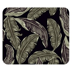 Jungle Leaves Tropical Pattern Double Sided Flano Blanket (small)