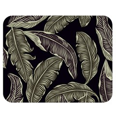 Jungle Leaves Tropical Pattern Double Sided Flano Blanket (medium)  by Nexatart