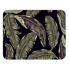 Jungle Leaves Tropical Pattern Double Sided Flano Blanket (large)  by Nexatart