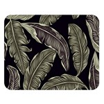 Jungle Leaves Tropical Pattern Double Sided Flano Blanket (Large)   Blanket Back