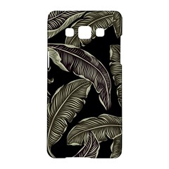 Jungle Leaves Tropical Pattern Samsung Galaxy A5 Hardshell Case