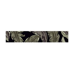 Jungle Leaves Tropical Pattern Flano Scarf (mini)