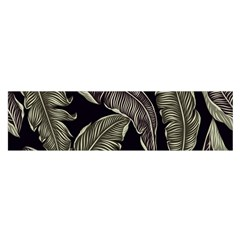 Jungle Leaves Tropical Pattern Satin Scarf (oblong) by Nexatart