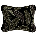 Jungle Leaves Tropical Pattern Jigsaw Puzzle Photo Stand (Bow) Front