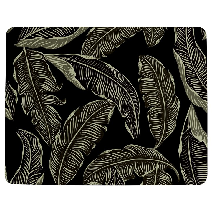 Jungle Leaves Tropical Pattern Jigsaw Puzzle Photo Stand (Rectangular)