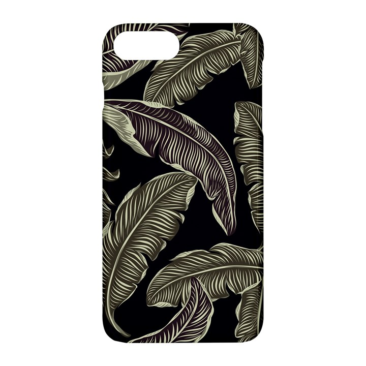 Jungle Leaves Tropical Pattern Apple iPhone 7 Plus Hardshell Case