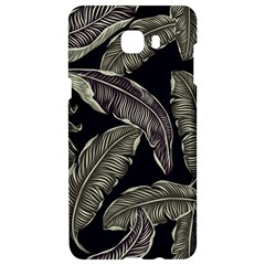 Jungle Leaves Tropical Pattern Samsung C9 Pro Hardshell Case  by Nexatart