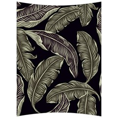 Jungle Leaves Tropical Pattern Back Support Cushion