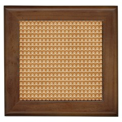 Gingerbread Christmas Framed Tiles