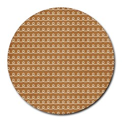 Gingerbread Christmas Round Mousepads