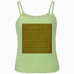 Gingerbread Christmas Green Spaghetti Tank