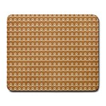 Gingerbread Christmas Large Mousepads Front
