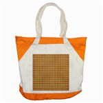 Gingerbread Christmas Accent Tote Bag Front
