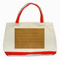 Gingerbread Christmas Classic Tote Bag (Red)