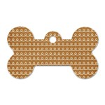 Gingerbread Christmas Dog Tag Bone (One Side) Front