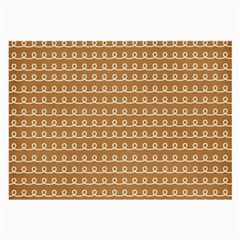 Gingerbread Christmas Large Glasses Cloth