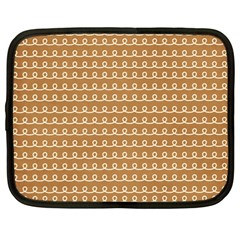 Gingerbread Christmas Netbook Case (Large)