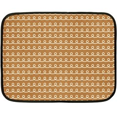 Gingerbread Christmas Double Sided Fleece Blanket (Mini)