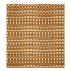 Gingerbread Christmas Shower Curtain 66  x 72  (Large)