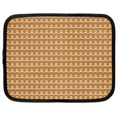 Gingerbread Christmas Netbook Case (XL)