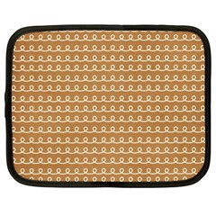 Gingerbread Christmas Netbook Case (XXL)