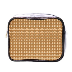 Gingerbread Christmas Mini Toiletries Bag (One Side)