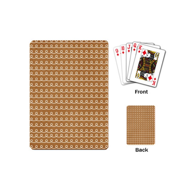 Gingerbread Christmas Playing Cards (Mini)