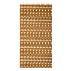 Gingerbread Christmas Shower Curtain 36  x 72  (Stall)