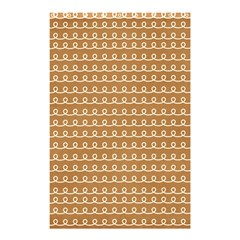 Gingerbread Christmas Shower Curtain 48  x 72  (Small)