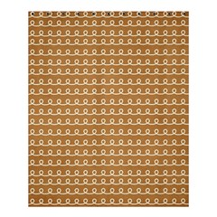 Gingerbread Christmas Shower Curtain 60  x 72  (Medium)