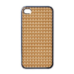 Gingerbread Christmas Apple iPhone 4 Case (Black)
