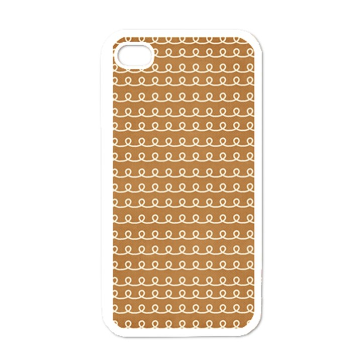 Gingerbread Christmas Apple iPhone 4 Case (White)