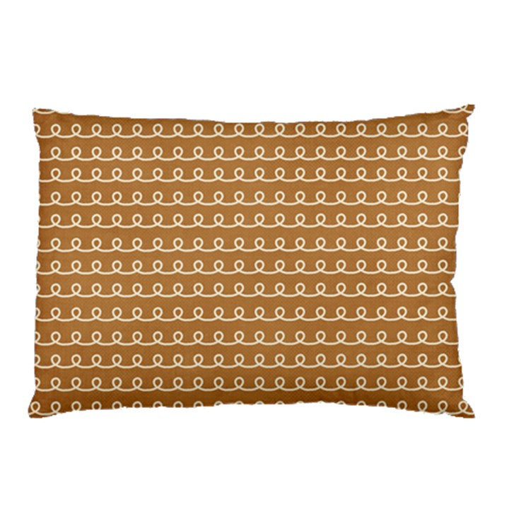 Gingerbread Christmas Pillow Case (Two Sides)