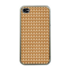 Gingerbread Christmas Apple iPhone 4 Case (Clear)