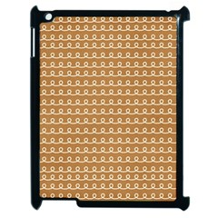 Gingerbread Christmas Apple iPad 2 Case (Black)