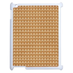 Gingerbread Christmas Apple iPad 2 Case (White)
