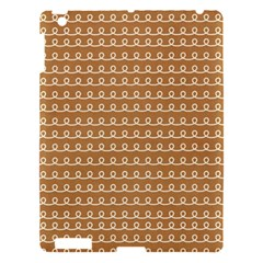 Gingerbread Christmas Apple iPad 3/4 Hardshell Case