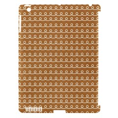 Gingerbread Christmas Apple iPad 3/4 Hardshell Case (Compatible with Smart Cover)